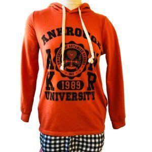 Ank Rouge University Hoodie Tunic Top Japanese